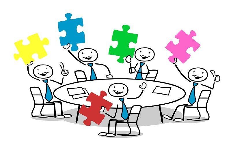 réunion d'équipe